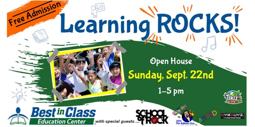 Learning ROCKS!  Open House