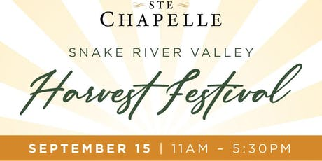 Snake River Valley Harvest Festival 2019 featuring The Big Wow Band tickets