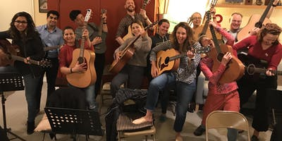 Guitar Level 5 Fall 2019 - an 8 Week Workshop for people excited to play guitar!