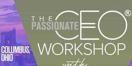 Passionate CEO® Workshop Columbus Ohio  tickets