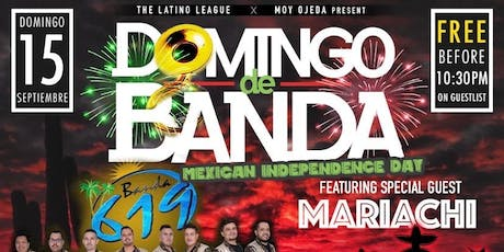DOMINGOS DE BANDA with BANDA 619 & MARIACHI | SEVILLA SD tickets