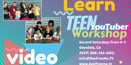 Teen YouTuber Intro Class  tickets