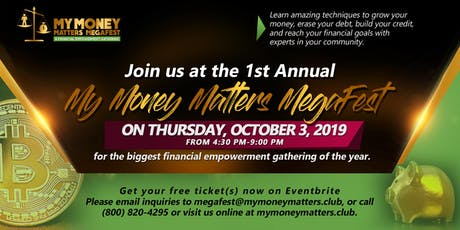 My Money Matters MegaFest tickets