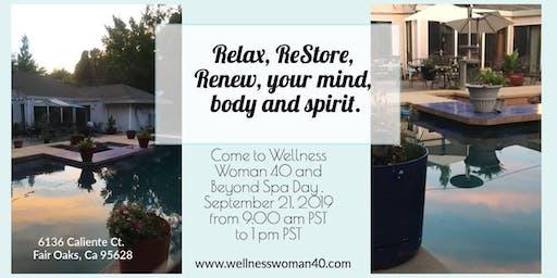 Wellness Woman 40 and Beyond Spa Day
