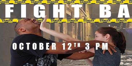 Fight Back Free Women Self Defense Training tickets