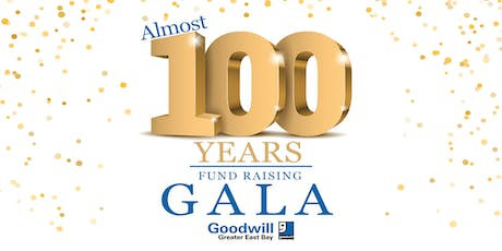 East Bay Goodwill's Almost 100 Years Fundraising Gala tickets