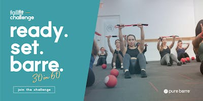 Fall Fit Challenge at Pure Barre