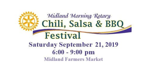Midland Morning Rotary Club's Chili, Salsa & BBQ Festival