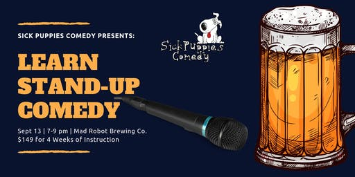 Stand Up Comedy Class in Boca Raton