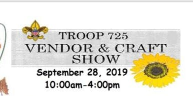 Troop 725 Vendor and Craft Show
