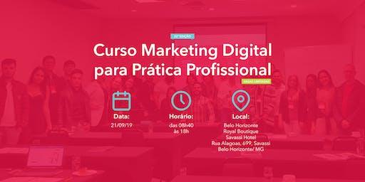 Curso Marketing Digital para Prática Profissional - 21/09/2019 - BH