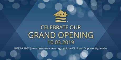Grand Opening of Veterans United Home Loans in Auburn tickets
