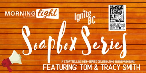 Soapbox Series - Episode 3 Taping (Cereal City Tattoo)