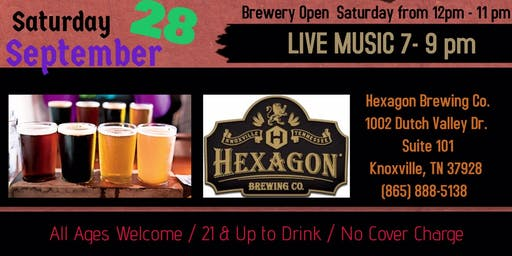 40 Rounds band at Hexagon Brewing Co.