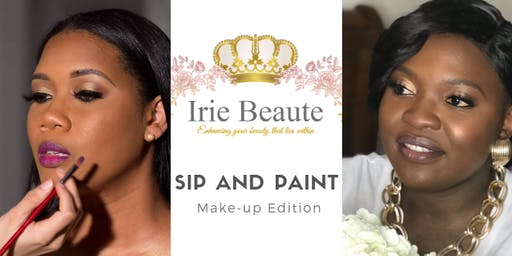 Sip and Paint Make-up Edition