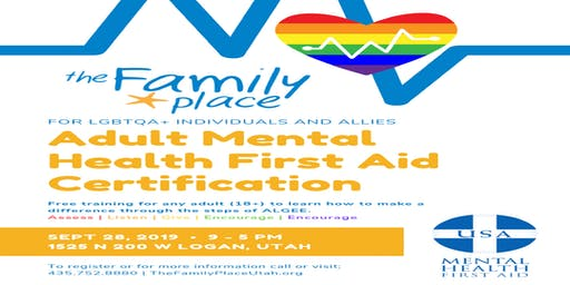 Mental Health First Aid Training for LGBTQA+ Individuals and Allies