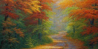 Bob Ross Oils Class Sun Oct 27th 9:00am - 3:00pm $70 Includes Materials
