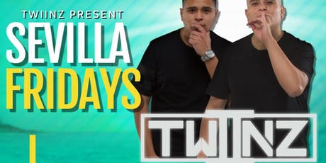 Let's party this FRIDAY NIGHT with TWIINZ  | Sevilla SAN DIEGO tickets