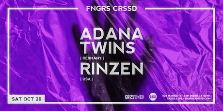 ADANA TWINS + RINZEN tickets