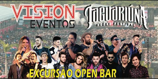 VISION Eventos te leva: Jaguariúna Rodeio Festival