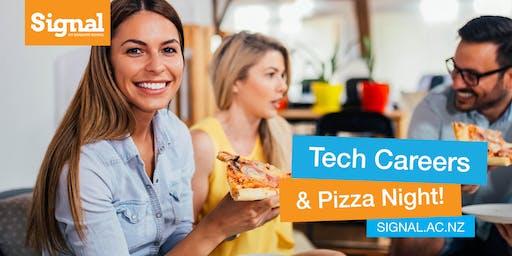 Tech Careers Pizza Night - Dunedin 22 October