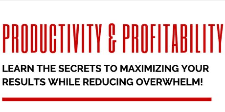 Productivity & Profitability tickets