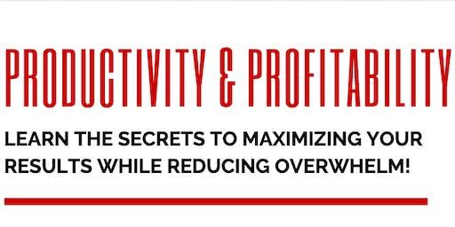 Productivity & Profitability