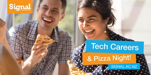 Tech Careers Pizza Night - Christchurch 21 November