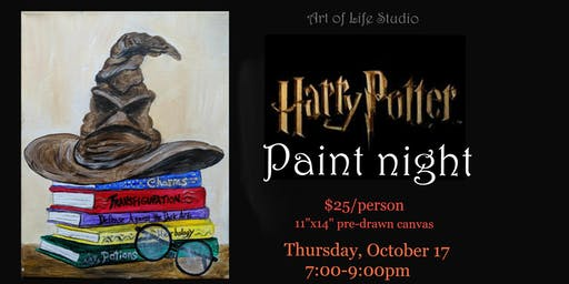 Paint Night: Harry Potter