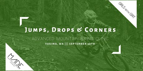MADE & Girls with Grit Jumps, Drops & Corners Mountain Bike Clinic tickets