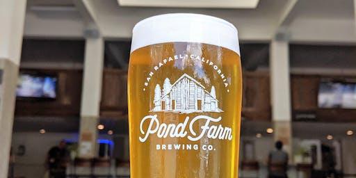 BOGA (Yoga + Beer!) @ Pond Farm w/ Metta Yoga