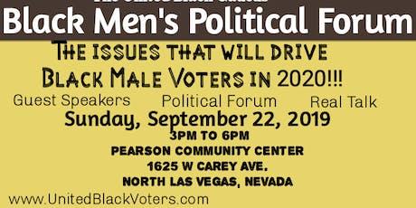 Black Men's Political Forum tickets