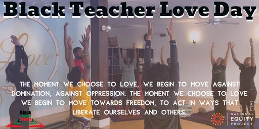 Black Teacher Love Day @ Anasa Yoga