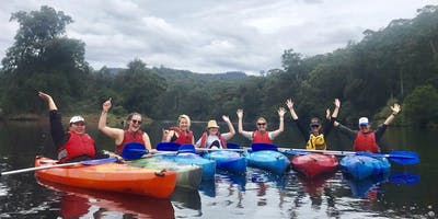 Women's Easy Rapids Kayaking // Tuesday 14th January