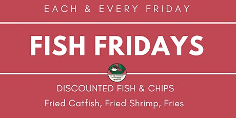 Fish Fridays  | The Caged Bird tickets