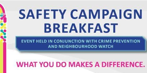 Safety Campaign Launch Breakfast