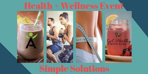 Health & Wellness Tasting Event