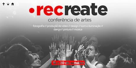 Conferencia de Artes - Recreate entradas