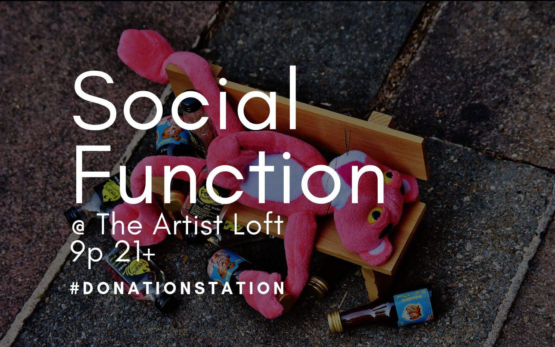 Social Function at The Artist Loft
