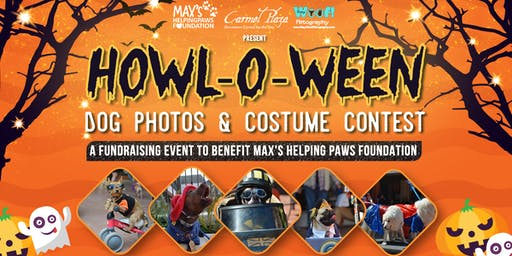 2019 Howl-O-Ween Dog Photos & Costume Contest, a Fundraiser for Max's Helping Paws