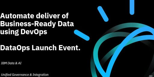 Automate delivery of Business-ready Data using DataOps - Perth