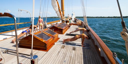 Block Island Wellness Retreat aboard Sailing Yacht EROS