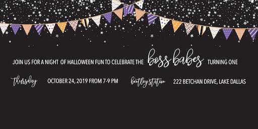 Boss Babes Halloween Birthday Bash