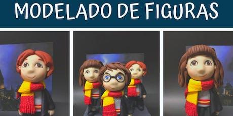 """Modelado de Figuras """"Harry Potter"""" con la Chef Karina Gracía en Anna Ruíz Store entradas"""
