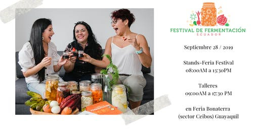 Fermentación y Salud Digestiva - Talleres y Festival en Ecuador