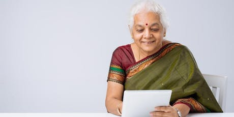 Tech Savvy Seniors - Introduction to Tablets presented in Hindi tickets