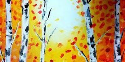 Paint Wine Denver Autumn Glow Mon Oct 28th 6:30pm $30