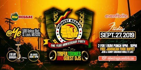 Midwest Reggae 1st Anniversary Party tickets