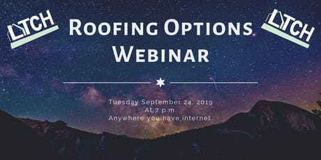 Roofing Options Webinar tickets