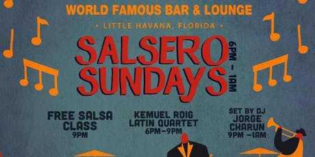 Salsero Sundays at Ball and Chain featuring Dj Charun from the Miami Salsa Scene tickets